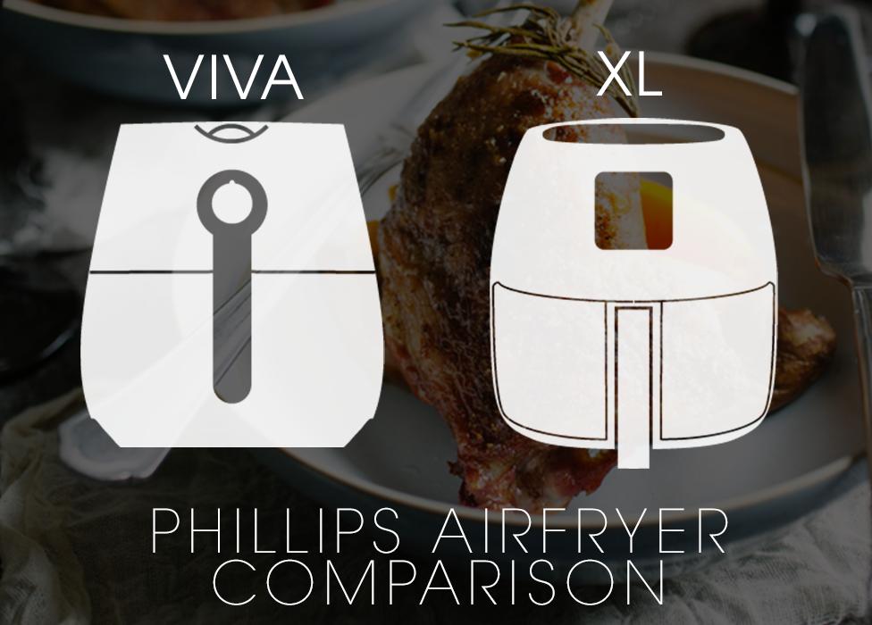 Comparison: Phillips Viva & Phillips XL Air Fryers
